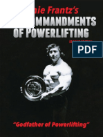 10 Commandments of Powerlifting Ernie Frantz
