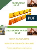 Excavadora Hitachi 450