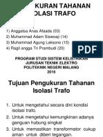 Dokumen.tips Pengukuran Tahanan Isolasi Trafo2