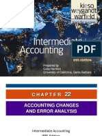 13, 14 - Kieso_Inter_Ch22 - IfRS (Accounting Changes)