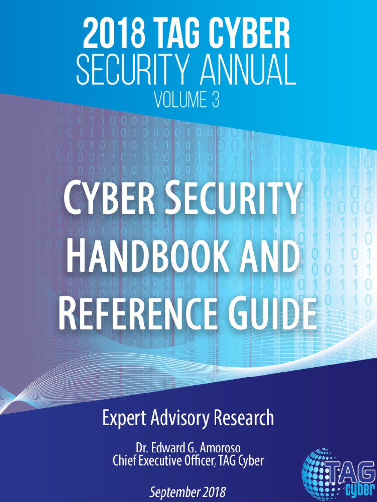 CyberSecurity Handbook and Reference Guide - Vol3 - 2018 | Security