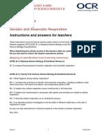 374781 Aerobic and Anaerobic Respiration Lesson Element