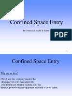 Confinedspaceentry Permit
