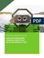Guía de estándares y buenas prácticas de Ad Viewability