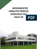 10 MOVIMIENTOS DEL SIGLO 20.pptx