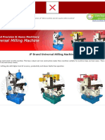 Milling Machine Diagramz