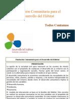 V.2. Fundación Comunitaria para el Desarrollo del Hábitat