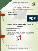 ley orgánica del ministerio de trabajo Perú