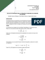 Calculo de fugacidades mediante ecuciones cúbicas