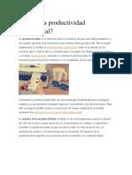 Qué es la productividad empresarial.docx