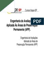 02 Antomar Viegas de OliveiraEngenharia de Avaliações Aplicada a Áreas de Preservação Permanente APP