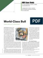 HBR World Class Bull