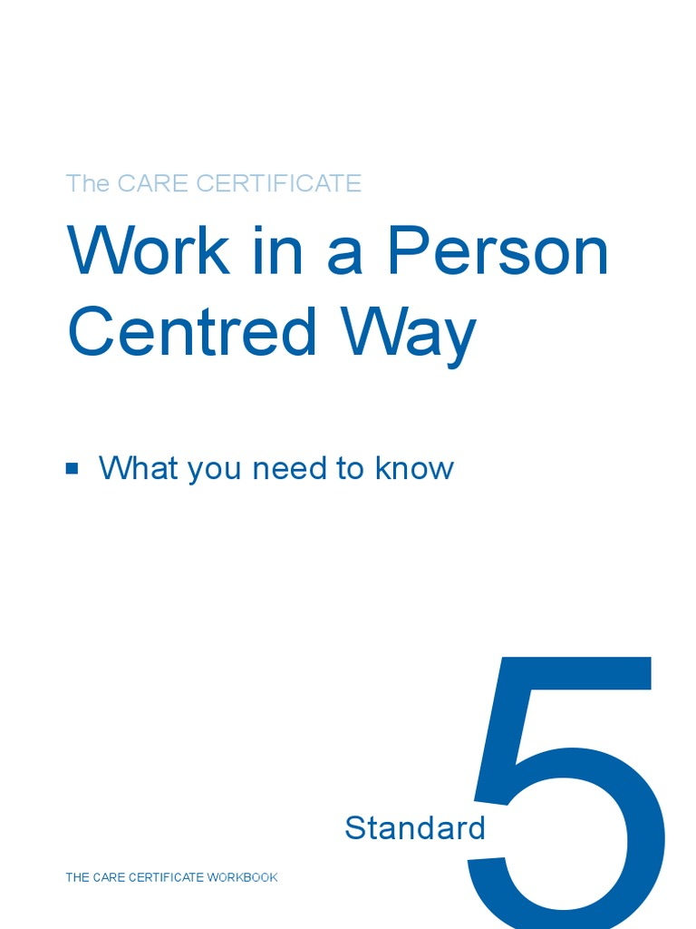 Standard 5 CC Workbook | Self Esteem | Dignity