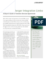 III. Further Publications - Avoiding Merger Integration Limbo