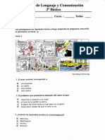 237703064 Prueba Lenguaje Comic Noticia Tercero Basico