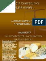 Microbiota Brinzeturilor Cu Pasta Moale