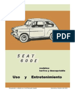 Manual Fiat 600