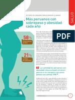 INTEGRACION Mas Peruanos Con Sobrepeso y Obesidad Cada Año