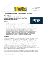 The English teacher as a facilitator and authority.pdf