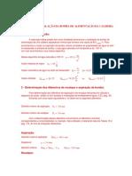 Exemplo de Projeto de Bomba Para Caldeira (Mathcad)