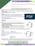 série d'exercices Sciences Physiques le dipole RC