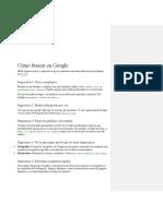 Cómo buscar en Google.docx