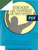 Predicacion Del Evangelio de San Mateo-Rodriguez Carmona Antonio