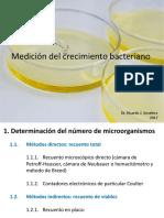 Medición Del Crecimiento Bacteriano