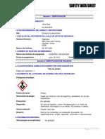14AM Liquid Safety Data Sheet Espanol