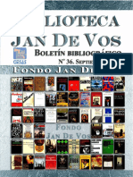 Boletín-Biblioteca Jan de Vos-Septiembre 2017