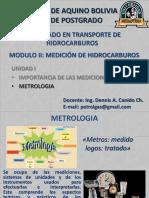 Unidad I - Metrologia