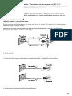 Circuitos Ligações Série e Paralelo e Interruptores