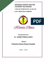 Psiquiatria Historia Clinica 1