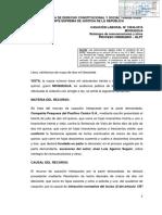 Casacion - 13634 - 2015 - Moquegua - Inasistir a La Audiencia No Constituye Conducta Obstruccionista