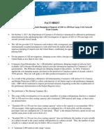 Commerce Bombardier Fact Sheet