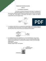 Material Balance Sheet