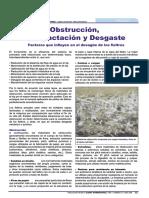 Obstrucción Compactación y Desgaste