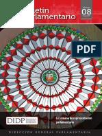 Boletin Parlamentario n 8 - La Semana de Representacion