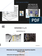Diapositiva # 10 Métodos Subterráneos 2017 I S 5-6
