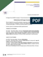 Invio Tramite E-mail Di Invito 70esimo Cormòns 1