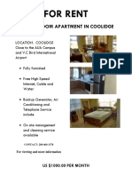 Apartment 4 Flyer