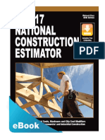 2017 National Construction Estimator PDF eBook 2