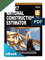 2017 National Construction Estimator PDF eBook 2