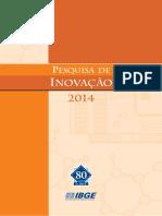 PUBLICAÇÃO PINTEC 2014