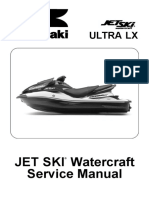 Kawasaki JetSki Watercraft ULTRA LX (JT1500-C7.8.9F) '07 a '09 - Service Manual