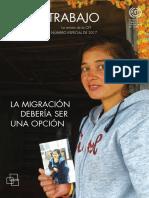La Migracion Debería Ser Una Opción, OIT 2017