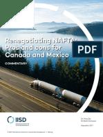 Renegotiating Nafta Pros Cons Canada Mexico