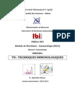 Td Immuno s6 Techniques 2010-2011