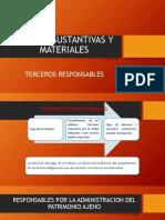 Diapositiva Normas Sustantivas y Materiales