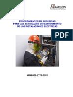 Procedimientos Seguros Trabajos de Electricidad